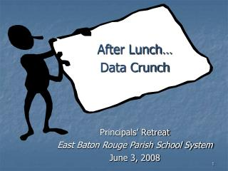 After Lunch… Data Crunch