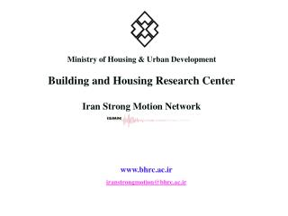Ministry of Housing & Urban Development Building and Housing Research Center