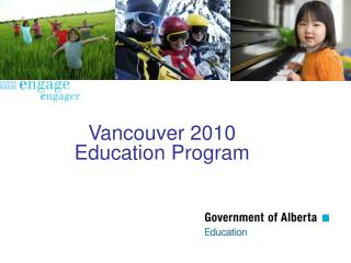 Vancouver 2010  Education Program