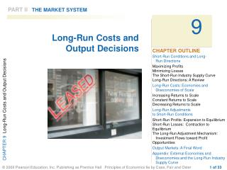PART II THE MARKET SYSTEM