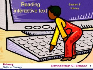 Reading  interactive text