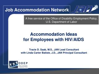 A free service of the Office of Disability Employment Policy, U.S. Department of Labor