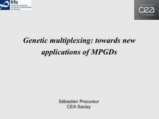 Genetic multiplexing: towards new applications of MPGDs