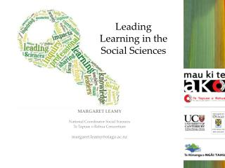 Leading Learning in the  Social Sciences
