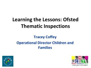 Learning the Lessons: Ofsted Thematic Inspections