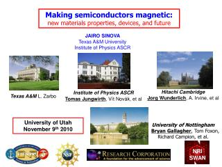 Making semiconductors magnetic:  new materials properties, devices, and future