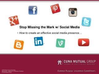 Stop Missing the Mark w/ Social Media