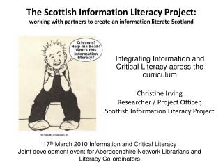 The Scottish Information Literacy Project: working with partners to create an information literate Scotland