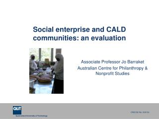Social enterprise and CALD communities: an evaluation