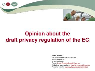 Opinion about the draft privacy regulation of the EC