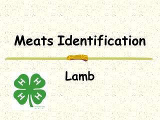 Meats Identification
