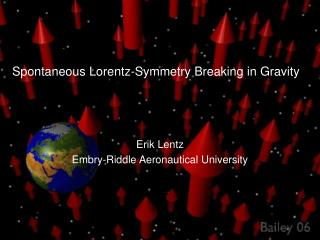 Spontaneous Lorentz-Symmetry Breaking in Gravity
