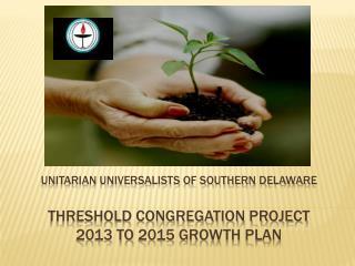 Threshold Congregation Project