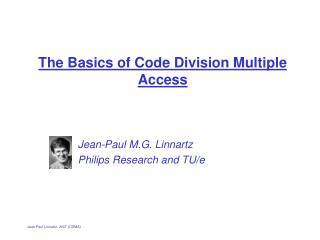 The Basics of Code Division Multiple Access