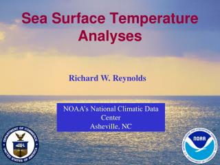 Sea Surface Temperature Analyses