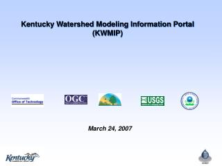 Kentucky Watershed Modeling Information Portal (KWMIP)