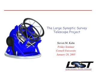 The Large Synoptic Survey Telescope Project