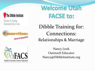 Welcome Utah FACSE to: