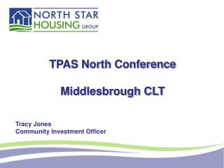TPAS North Conference Middlesbrough CLT