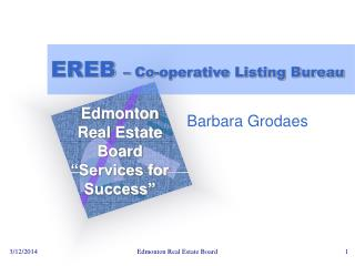 EREB  – Co-operative Listing Bureau