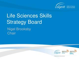 Life Sciences Skills Strategy Board