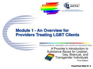 Module 1 - An Overview for Providers Treating LGBT Clients