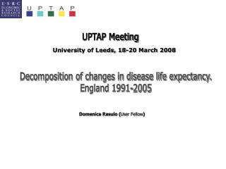 Decomposition of changes in disease life expectancy. England 1991-2005