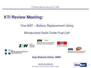 KTI Review Meeting: