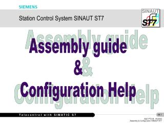 Station Control System SINAUT ST7
