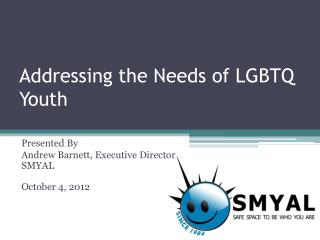 Addressing the Needs of LGBTQ Youth