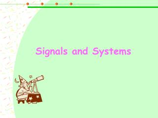 Signals  a nd Systems