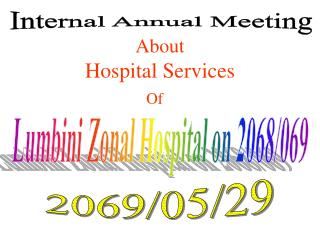 Internal Annual Meeting