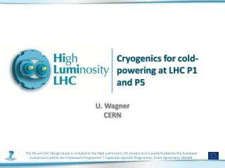 Cryogenics for  cold-powering  at  LHC  P1  and P5