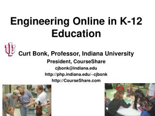 Engineering Online in K-12 Education