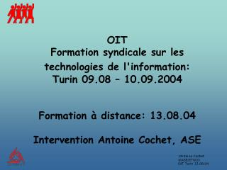 Structure de l 'intervention