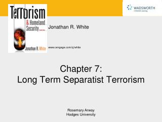 Chapter 7: Long Term Separatist Terrorism
