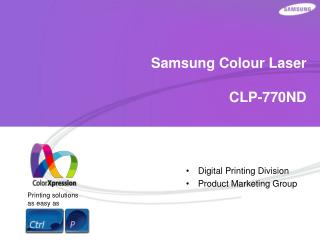 Samsung Colour Laser CLP-770ND