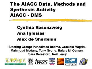 The AIACC Data, Methods and Synthesis Activity AIACC - DMS