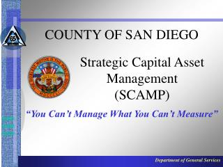 Strategic Capital Asset Management (SCAMP)