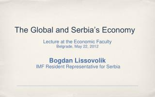 The Global and Serbia's Economy