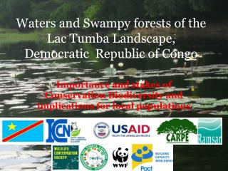 Waters and Swampy forests of the Lac Tumba Landscape, Democratic  Republic of Congo