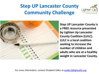 Step UP Lancaster County Community Challenge