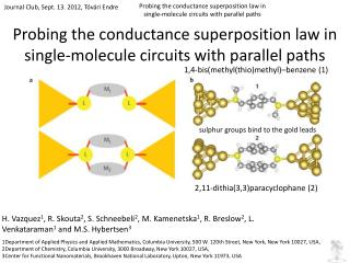 Probing the conductance superposition law in single-molecule circuits with parallel paths