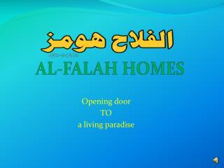 AL-FALAH HOMES