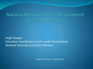 National Network of Local Development Education Personnel