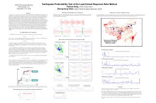 Earthquake Predictability Test of the Load/Unload Response Ratio Method