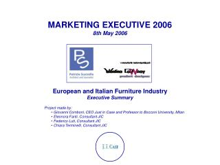 MARKETING EXECUTIVE 2006 8th May 2006