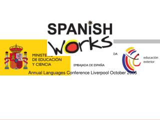 Annual Languages Conference Liverpool October 2006