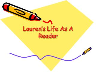 Lauren's Life As A Reader