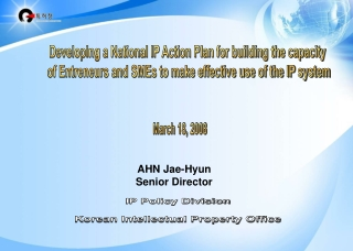 BUILDING AN EFFECTIVE ACTION PLAN